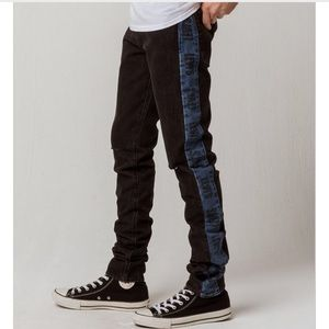 Levi's Lo-Ball Stack Stripe Ripped Jeans NWT